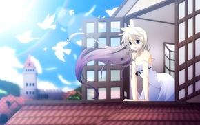 anime, Vocaloid, IA Vocaloid, anime girls, open mouth