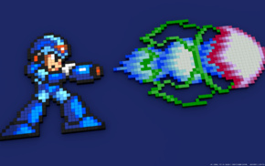 pixel art, pixelated, 8, bit, Mega Man, Megaman X