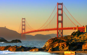 bridge, USA, San Francisco, Golden Gate Bridge