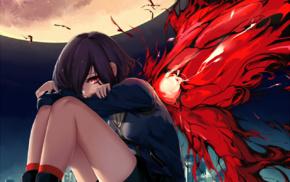 Kirishima Touka, Tokyo Ghoul, Tokyo Ghoulre, anime