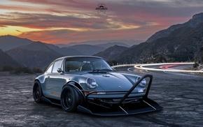 Porsche, car, custom, andrecamachodesign, Porsche 911