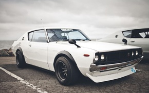 Japan, car, Nissan GTR, Nissan Skyline GT, R, vehicle