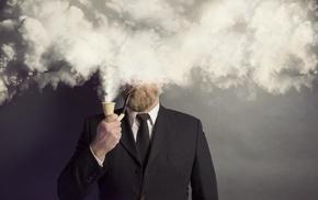 smoke, men, humor, smoking