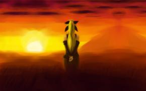 visual novel, sunset, Katawa Shoujo, Lilly Satou, anime girls