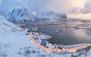 snow, Norway, Lofoten