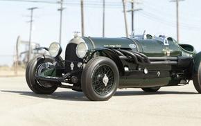 Racing Green, Bentley, car