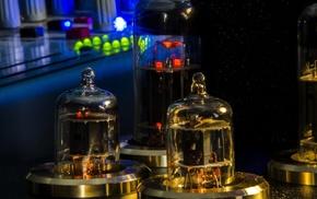 steampunk, vacuum tube, amplifiers