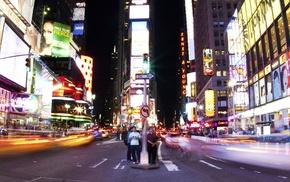 city, neon