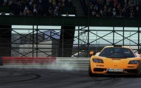 car, McLaren F1, race tracks, Drifting