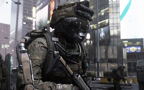 Call of Duty Advanced Warfare, Call of Duty, military, screen shot, soldier, artwork