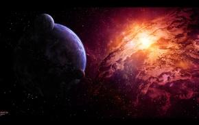 galaxy, space