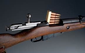 gun, Mosin, Nagant, Bolt action rifle