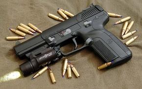 pistol, FN Five, Seven, gun