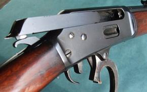 lever action rifle, gun