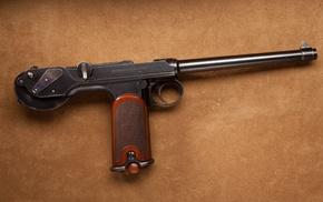pistol, Borchardt C, 93, gun