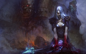 World of Warcraft, Jaina Proudmoore, Garrosh Hellscream, orcs, Thrall