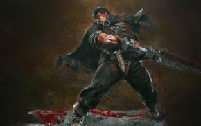 Black Swordsman, Guts, Berserk, Beruseruku