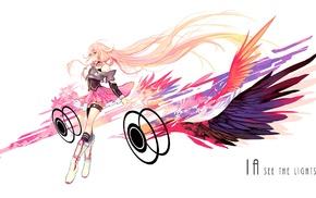 Vocaloid, anime girls, anime, IA Vocaloid