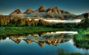 nature, Wyoming, mountains, landscape