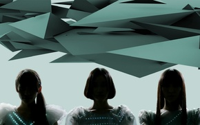girl, Perfume Band, Asian, J, pop, geometry