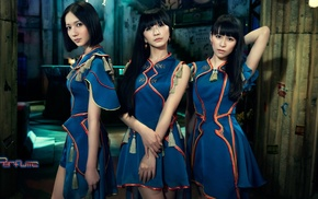 Perfume Band, J, pop, girl, costumes, Asian