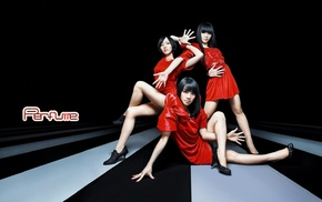 Perfume Band, costumes, girl, J, pop, Asian