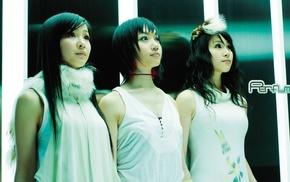 Asian, Perfume Band, black hair, group of girl, J, pop