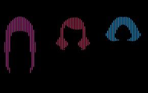 hair, J, pop, Perfume Band