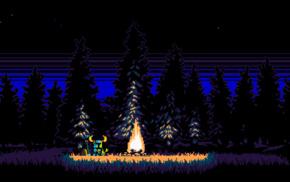 video games, pixel art, Shovel Knight, retro games, 8, bit
