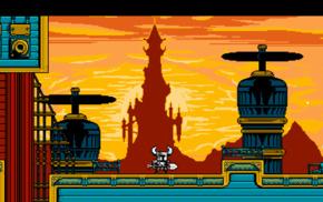 pixel art, video games, 16, bit, Shovel Knight, 8