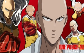 One, Punch Man, Saitama, anime boys