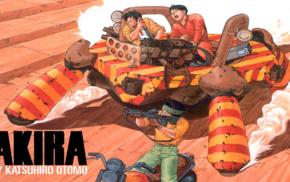 anime, katsuhiro otomo, Akira