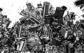 manga, katsuhiro otomo, Monochrome Factor, Akira