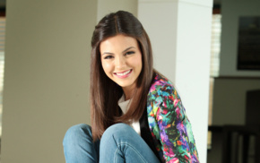 celebrity, girl, singer, looking at viewer, actress, Victoria Justice
