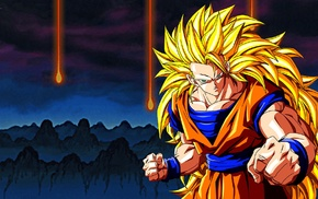 Dragon Ball Z, Son Goku, Super Saiyan 3, Dragon Ball