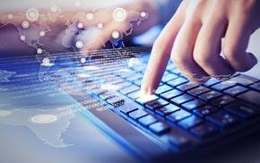 network, binary, keyboards, hands, internet, technology