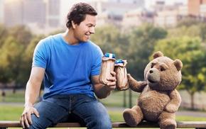 Mark Wahlberg, park, Ted movie
