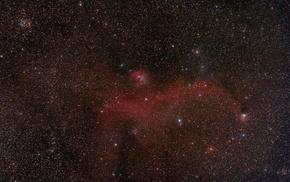 stars, nebula, space