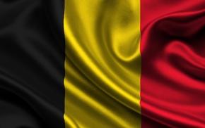 flag, yellow, Belgium, black, red