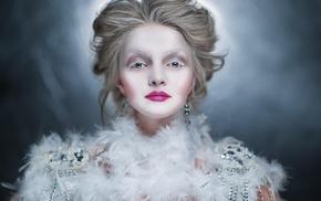 model, girl, portrait, makeup