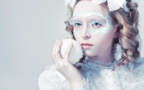 model, girl, portrait, face, makeup