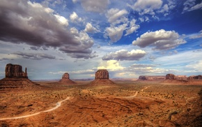 desert, Monument Valley