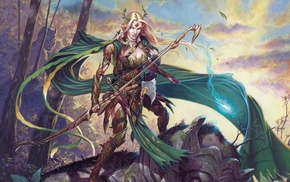 elves, fantasy art, magic