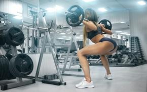sports bra, weightlifting, ass, fitness model, sport, gyms