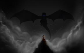 video games, Alduin, dragonborn, The Elder Scrolls V Skyrim