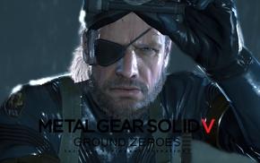 Metal Gear Solid, Metal Gear Solid V Ground Zeroes, Metal Gear, Big Boss