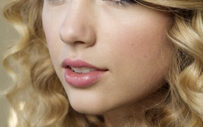 Taylor Swift, long hair, singer, face, musician, looking at viewer