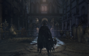 video games, Cathedral Ward, Bloodborne