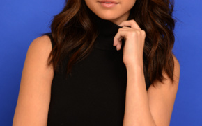 portrait display, Selena Gomez, looking at viewer, girl, singer, celebrity