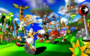Tails character, Sonic, Knuckles, Sonic the Hedgehog, Metal Sonic, Shadow the Hedgehog